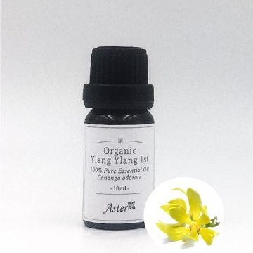 Aster Aroma Organic Ylang Ylang 1st 100% Pure Essential Oil  有機特級伊蘭伊蘭純香薰精油 (10ML)