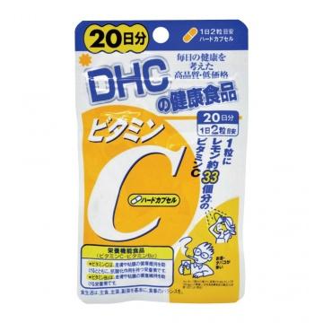 DHC 維他命C補充食品20日份 (40粒)