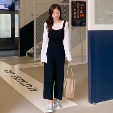【新品】 CHERRYKOKO 韓版休閒簡約連身褲 (韓國女裝)