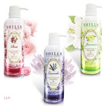 SHILLS 維多利亞香氛極潤美白身體乳(500ml)3款可選
